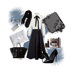 """""""Untitled #7"""" by aisyahla on Polyvore featuring MaxMara, Dolce&Gabbana, Nordstrom, ZeroUV, Lipstick Queen, Jouer, Yves Saint Laurent, CÉLINE and Fendi"""