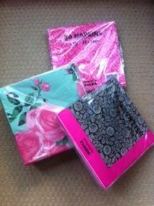Decoupage Napkin Finds - link http://thegallerylondon.org/Vintage-Boutique/decoupage-napkin-finds/