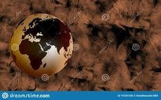 All Continents, Map Globe, Technology Background, Cyber, Christmas Bulbs, Banner, Coding, Concept, Abstract