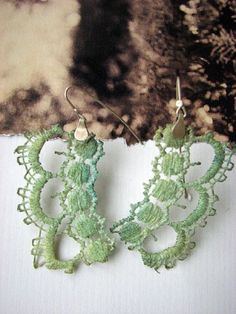 vintage lace earrings sale