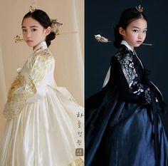 Korean Traditional Dress, Traditional Fashion, Traditional Dresses, Korean Princess, Black Korean, Korean Accessories, Korea Dress, Korean Hanbok, Oriental Fashion