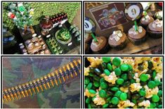 Ideas for Rowdys next Bday party.  He is already telling me he wants an Army party!