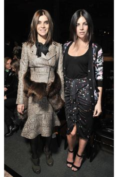 The 19 most stylish mother daughter duos: Carine Roitfeld and Julia Restoin-Roitfeld