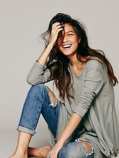 I would live in this outfit!!  Free People We The Free Wonder Woman Top,