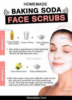 Baking Soda Face Scrub #HomemadeSkinCare #FaceScrubHomemadeBakingSoda #BakingSodaScrub Baking Soda Facial, Baking Soda Face Scrub, Beauty Hacks With Baking Soda, Baking Soda Uses, Concealer, Diy Beauty Face, Beauty Tips, Beauty Skin, Beauty Quotes