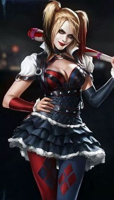 Harley Quinn, Arkham Knight.  Can not wait to play this!!