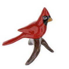 Hagen Renaker Cardinal On Branch