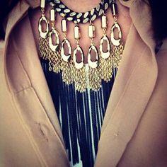 Lillith Fringe Necklace by Stella & Dot
