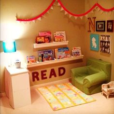 If you're trying to encourage reading, make your kids a space to call their own! These easy tips will inspire you to create a special spot in your home for reading. It doesn't have to b…