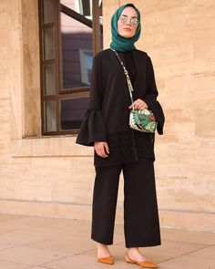 Likes, 2 Comments - elif küçüksarı ( Hijab Fashion Summer, Abaya Fashion, Muslim Fashion, Modest Fashion, Fashion Outfits, Hijab Style, Hijab Chic, Casual Hijab Outfit, Hijab Dress