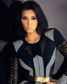 ♥ Kim Kardashian, I love pouty lips