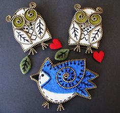 Estas criações maravilhosas são feitas por Odile Gova, uma artista muito talentosa (dona de casa) do Canadá. Foi muito difíci...