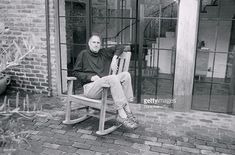 News Photo : CEO and chairman of Apple, Steve Jobs at his Palo... #SteveJobs