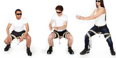 Introducing The Chairless Chair You Can Wear, So You Can Sit Anywhere I Emily Thomas