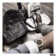 Audemars x BALR. Sling Backpack, Leather Backpack, Football Fashion, Football Love, Fashion Backpack, Soccer, Backpacks, Mens Fashion, My Style