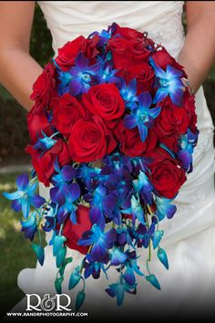 Blue and Red...but it doesn't look patriotic...maybe I can do this