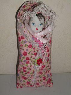 Boneco Moiséis Rosa