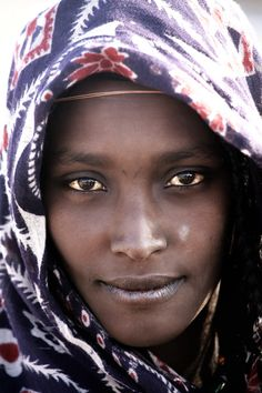 Africa |  Portrait of an Afar Lady | © Makis Siderakis