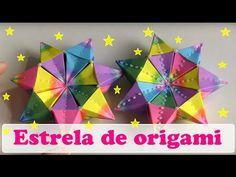 ESTRELA DE ORIGAMI MODULAR - YouTube