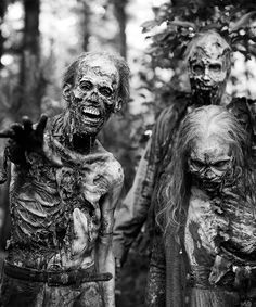 The Walking Dead season 6. walkers