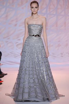Zuhair Murad Fall 2014 Couture Fashion Show Collection: See the complete Zuhair Murad Fall 2014 Couture collection. Look 43