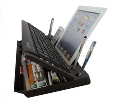 The 6-In-1 Bluetooth Keyboard Stand and Organizer