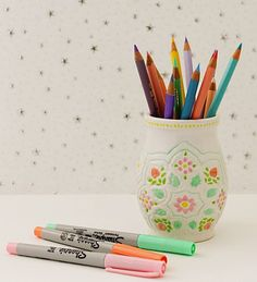 Molly Mell: DIY Painting on Porcelain