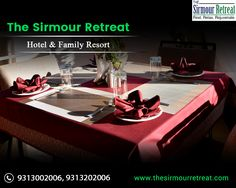 The Sirmour Retreat in Himachal Pradesh is the best #Hotel for #Family 👨👩👦👦 and #Friends. It's the best destination for #PreWedding💃 celebrations, #Birthdays🎂, #KittyParties🍹 and many more. Visit- https://goo.gl/1ZUhE9