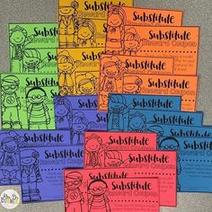 Sub hub a great blog for substitute teachers lots of information substitute reward coupons for the sub to give to the kids free new free fandeluxe Gallery