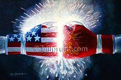 Sylvester Stallone Rocky Balboa Rocky IV 4 art by billpruittart, $15.00
