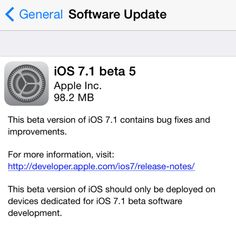 Apple releases iOS 7.1 beta 5 to developers with higher-quality international Siri, altered keyboard