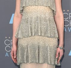 Pin for Later: Kirsten Dunst Is a Shimmering Dream in Chanel at the Critics' Choice Awards