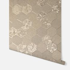 Foil Honeycomb Champagne – Arthouse Honeycomb Wallpaper, Wallpaper Display, Home Art, Champagne, Im Not Perfect, Contemporary, Luxury, Trellis, Room