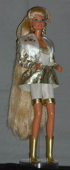 Hollywood Hair Barbie. I had her! The long hair Barbie dolls were my faves :)