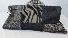 Wildstar Faux Fur Clutch bags