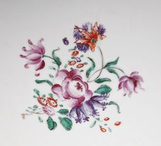 Chinese Export Porcelain Famille Rose Mandarin Palette Punch Bowl from piatik on Ruby Lane