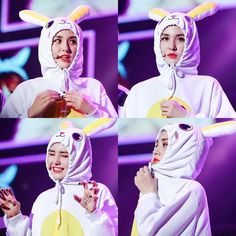 Somi is a bunny 💫 Ioi Members, Jung Chaeyeon, Choi Yoojung, Kim Sejeong, Jeon Somi, 2017 Photos, Yg Entertainment, Kpop Girls, Girl Group