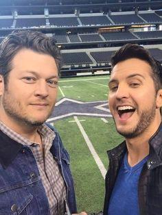 Luke Bryan & Blake Shelton - 2015 Academy of Country Music Awards
