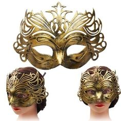 amazones gadgets QU Nostalgic Crown Style Halloween Fancy Ball Mask (Golden): Bid: 8,20€ Buynow Price 8,20€ Remaining 08 dias 15 hrs 1)…