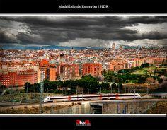 Madrid desde Entrevías | HDR