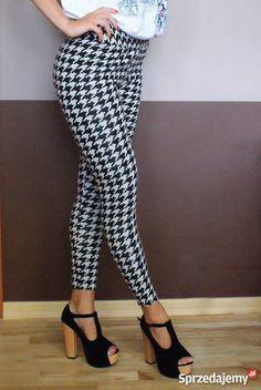 Legginsy wyszczuplające pepitka Legs, Pants, Fashion, Trouser Pants, Moda, Fashion Styles, Women's Pants, Women Pants, Fashion Illustrations