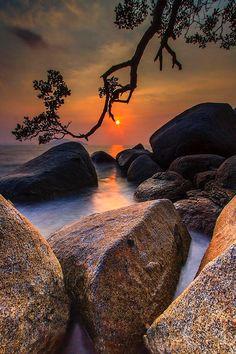 Sunset, Bali, Indonesia