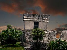 Tulum is just across the water from Cozumel, Mexico.    'shopped ...