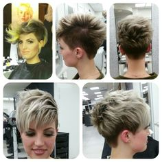 Wella trendvision 2015 makeover after show made by me !! @nancyhair&beautycenter