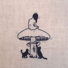 Spotlight #20: Adipocere on his dark, intriguing embroidery