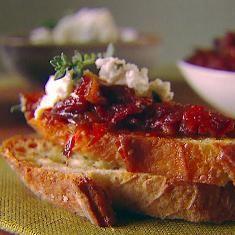 Crostini With Sun-dried Tomato Jam Recipe (via www.foodily.com/r/VbCYrw6Km-crostini-with-sun-dried-tomato-jam-recipe-by-giada-de-laurentiis)