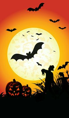 Search free halloween Wallpapers on Zedge and personalize your phone to suit you. Halloween Garland, Holidays Halloween, Spooky Halloween, Vintage Halloween, Halloween Pumpkins, Happy Halloween, Halloween Decorations, Halloween Stuff, Halloween Patterns