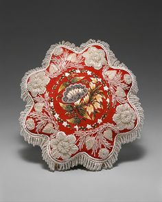 Mid-19th century beadwork pincushion from Canada