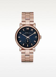 Baker Bracelet 36MM Navy Blue Dial Women's Watch - Marc by Marc Jacobs