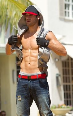 Ryan Guzman (Step Up Revolution)  He's sexy!!!... AND he can dance <3